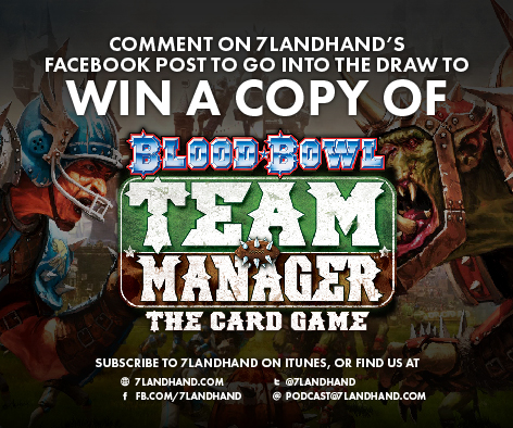 FACEBOOK POST - 7 Land Hand Blood Bowl Win