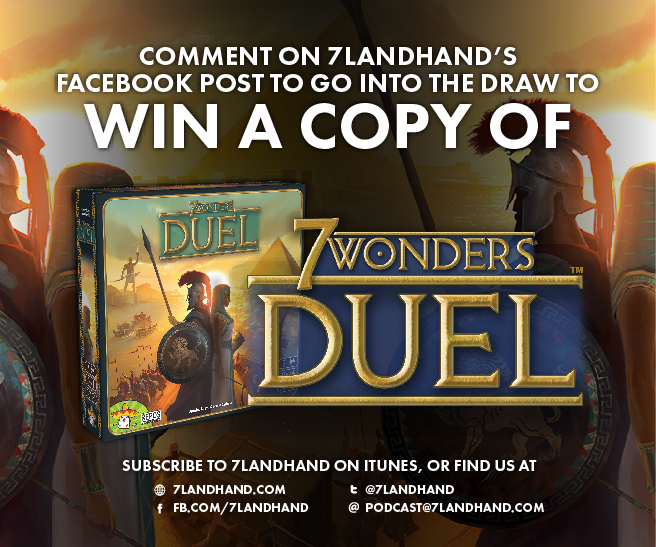 FACEBOOK POST - 7 Wonders Duel FOR STORES